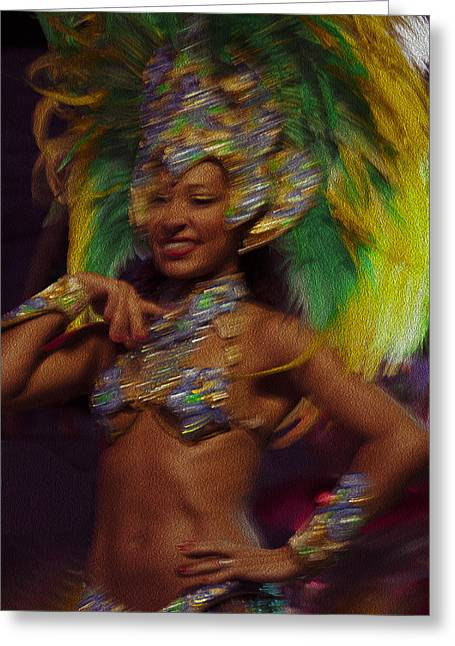 Rio Dancer IIi A Greeting Card