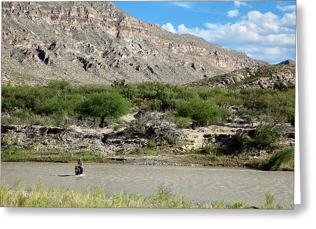 Rio Grande Greeting Card by Jim West