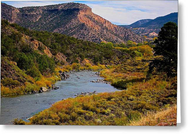 Rio Grande  Greeting Card