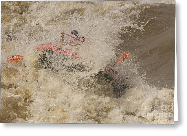 Rio Grande Rafting Greeting Card by Steven Ralser