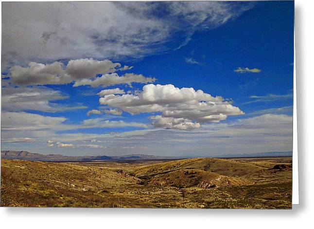 Rio Grande Valley Afternoon Greeting Card by Feva  Fotos