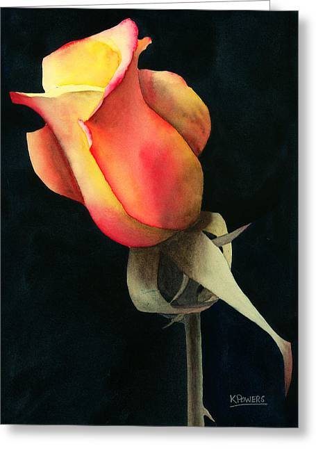 Greeting Card featuring the painting Rio Samba by Ken Powers