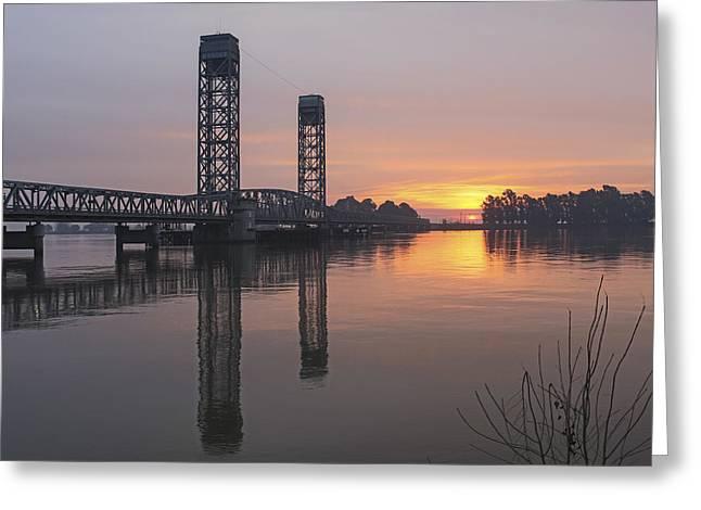Rio Vista Bridge Greeting Card