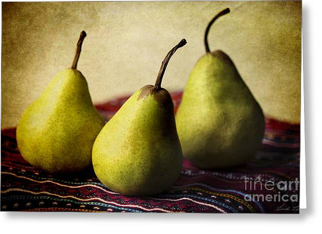 Ripe And Ready Greeting Card by Linda Lees