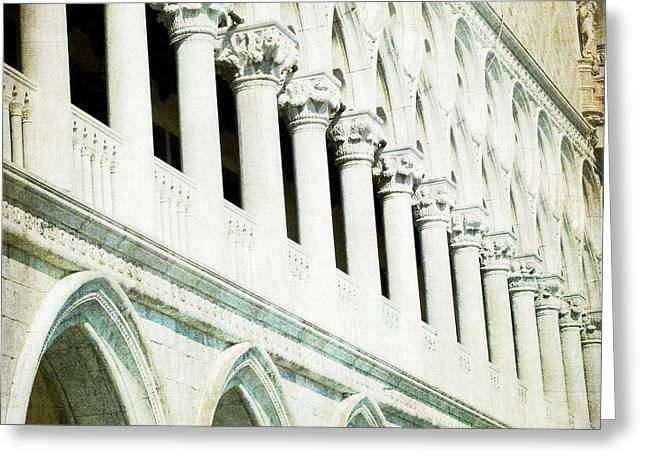 Ripeti - Venice Greeting Card by Lisa Parrish
