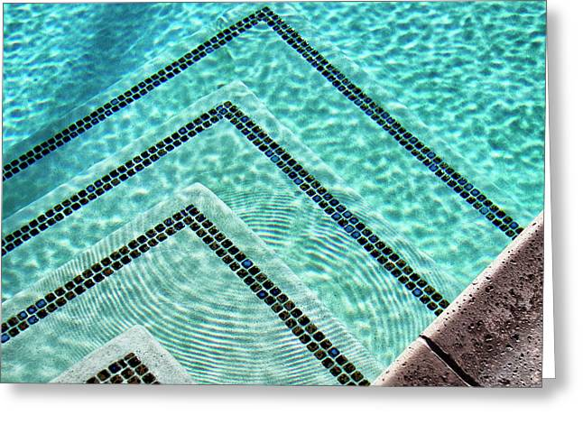 Ripple Effect Palm Springs Greeting Card