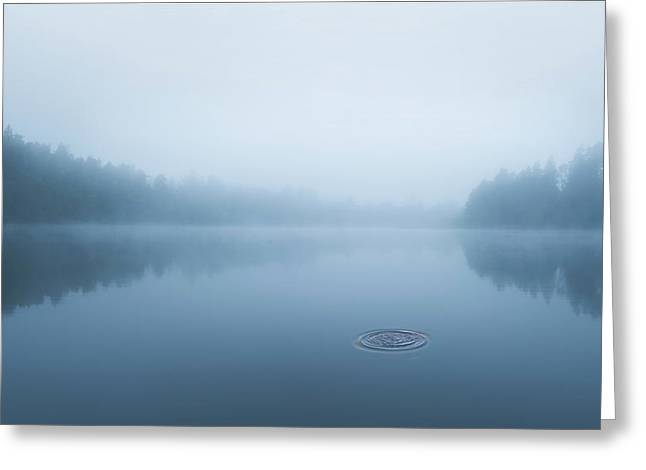 Ripple In The Water Greeting Card
