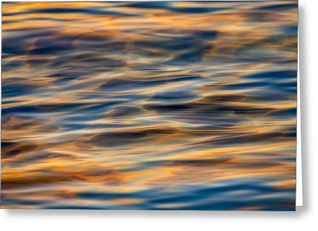Ripples #3  73a8331 Greeting Card