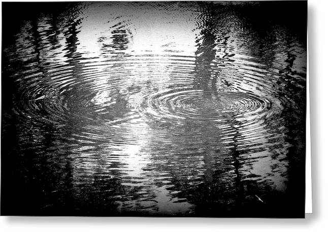 Greeting Card featuring the photograph Ripples by Michael Dohnalek