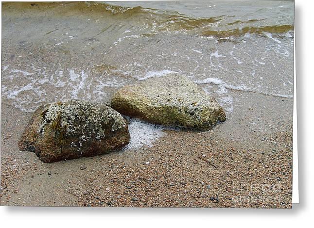 Rippling Seaside Tide Greeting Card