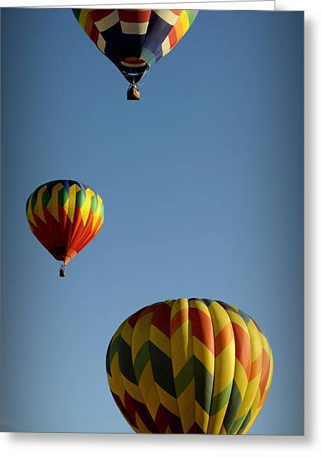 Rise Above Greeting Card by Luke Moore