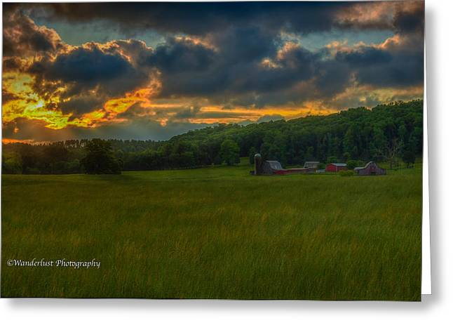 Rise And Shine Greeting Card by Paul Herrmann