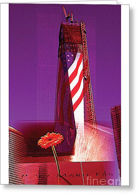 Greeting Card featuring the photograph Rise Of Freedom 2012 by Kenneth De Tore
