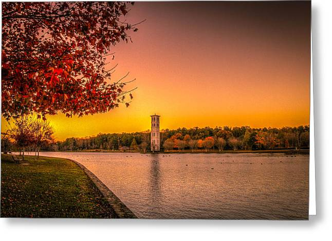 Rise Of The Colors Greeting Card by Jeff Hammond