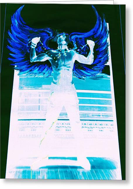 Rising Angel Greeting Card