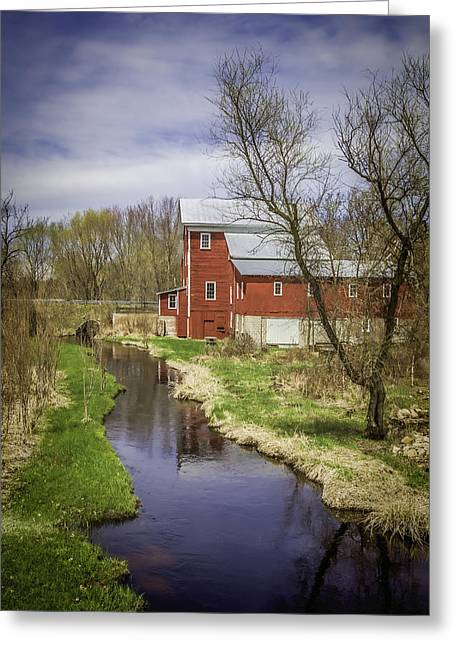 Rising Star Mill Greeting Card by Thomas Young