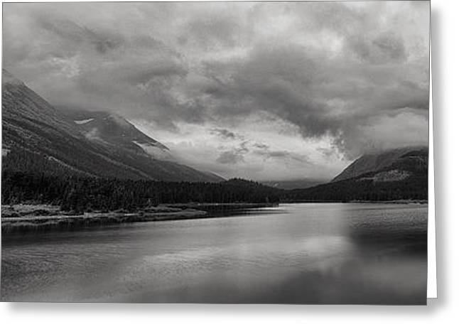 Rising Storm Clouds Greeting Card by Andrew Soundarajan