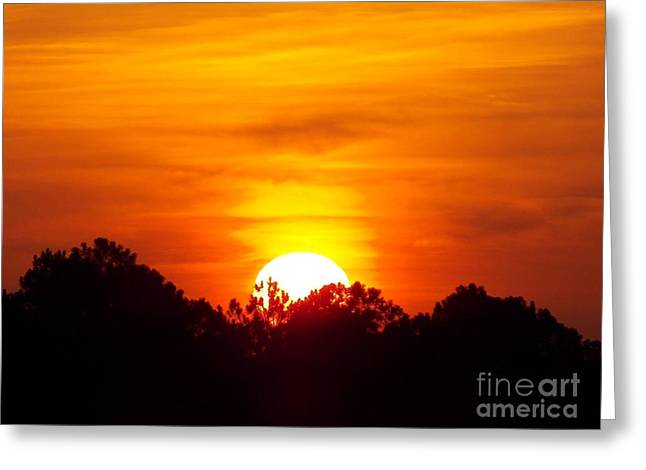 Rising Sun Greeting Card