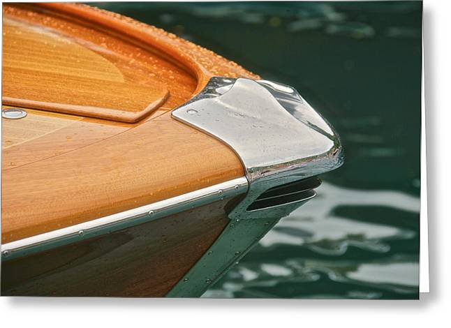 Riva Bow Greeting Card by Steven Lapkin