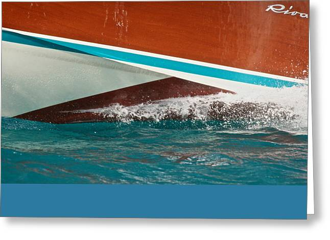 Riva Aquarama Greeting Card