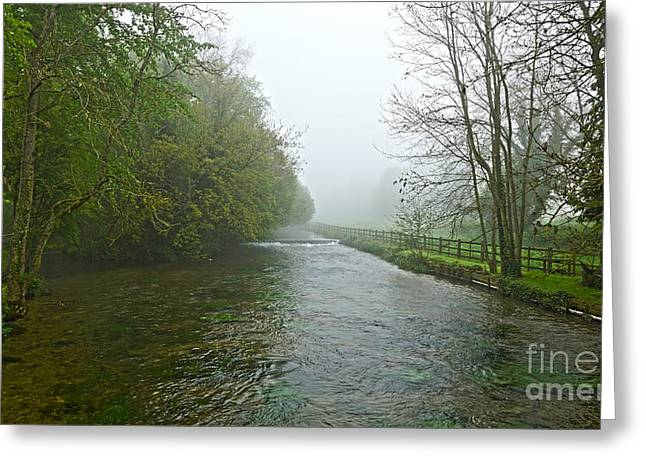River Anton Greeting Card