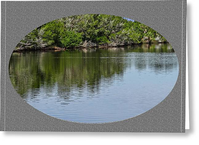 River Bend Greeting Card by Dennis Dugan