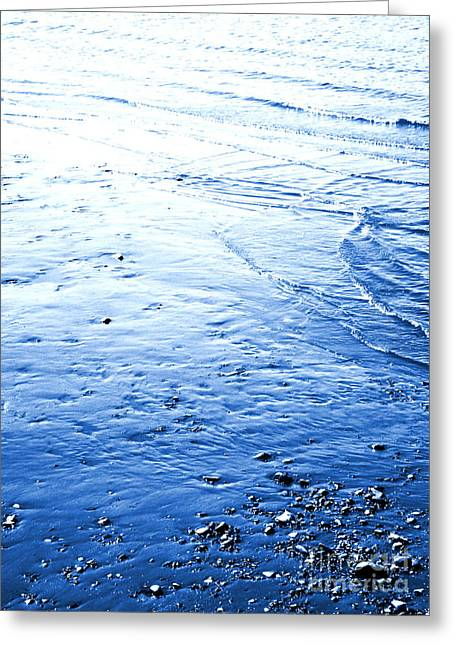 Greeting Card featuring the photograph River Blue by Robyn King