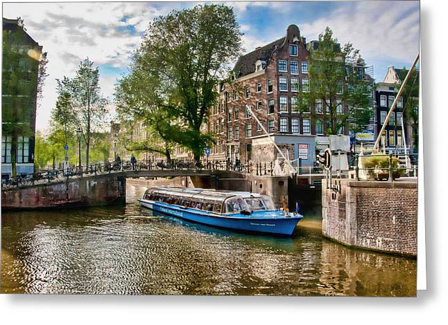River Cruise Greeting Card by Brent Durken