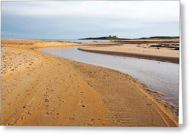 River Entering The North Sea Greeting Card by Ashley Cooper