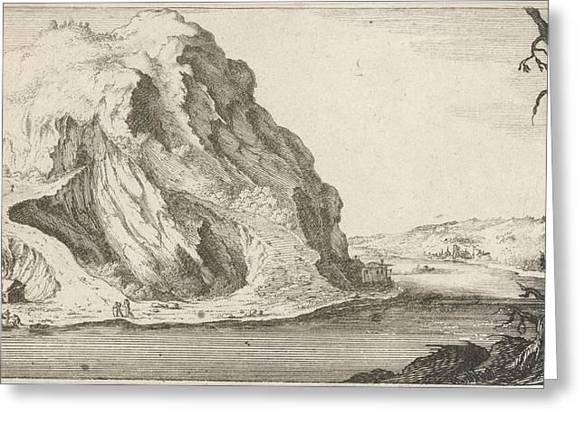 River In The Mountains, Gillis Van Scheyndel Greeting Card