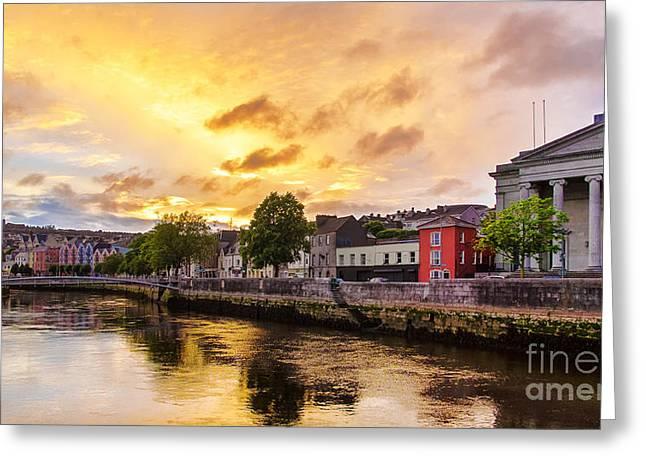 River Lee In Cork Greeting Card