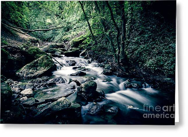 River Len Greeting Card by Jonathan Hughes