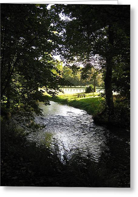 River Martin Greeting Card