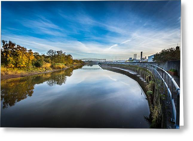 River Medway In England. Greeting Card by Gary Gillette