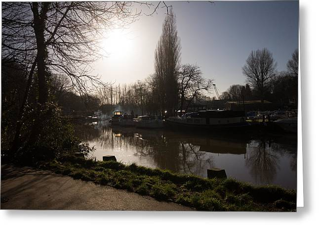 River Medway In Kent Greeting Card by Dawn OConnor