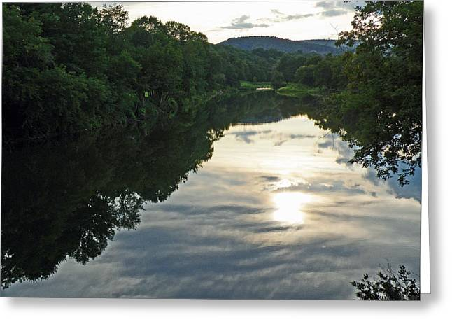 River Of Clouds Greeting Card by Jean Hall