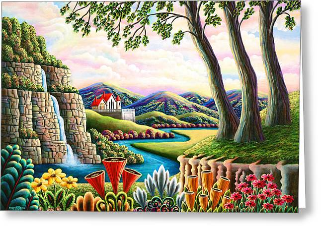 River Of Dreams 3 Greeting Card by Andy Russell