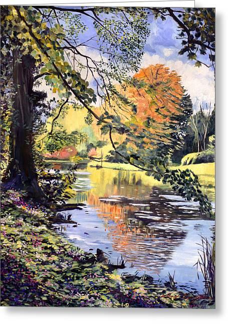 River Of Dreams Greeting Card by David Lloyd Glover