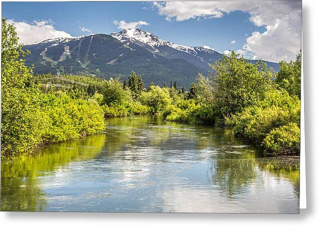 River Of Golden Dreams Greeting Card by Pierre Leclerc Photography