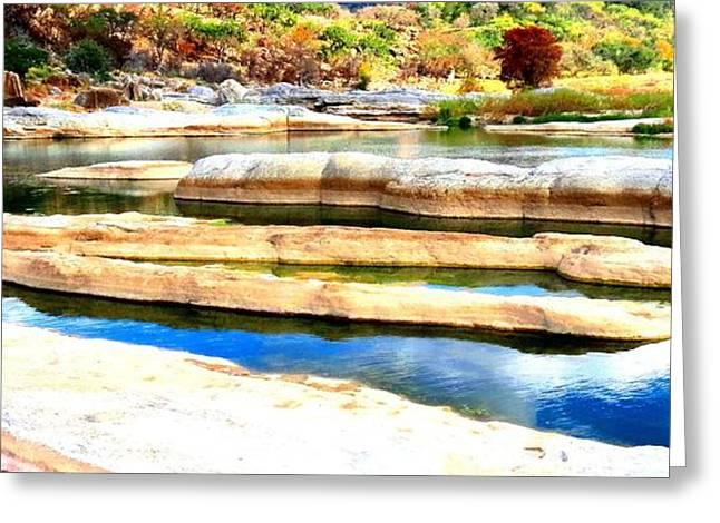 River Paradise Greeting Card by David  Norman