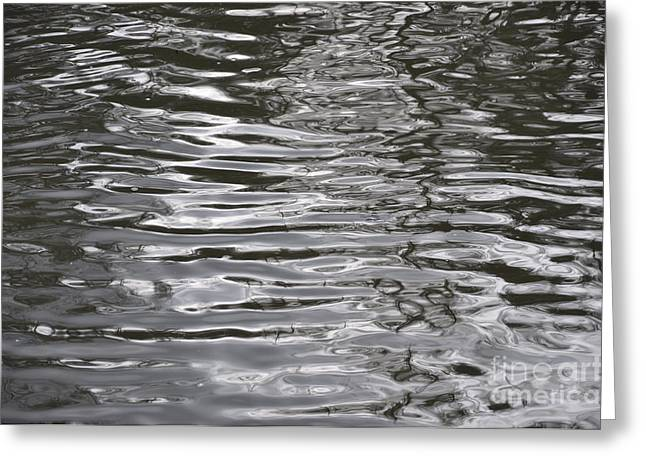 River Ripples Greeting Card
