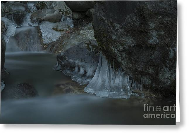 River Stalactites Greeting Card