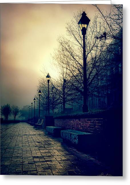 River Street Solitude Greeting Card
