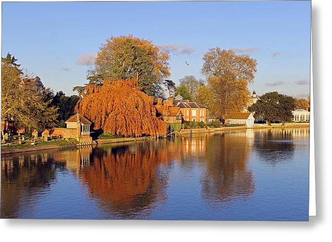 River Thames At Marlow Greeting Card