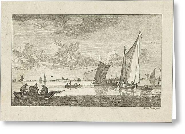 River View, N. De Vries Greeting Card by Artokoloro