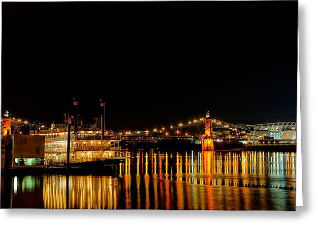 Riverboat Greeting Card by Andrew Johnson
