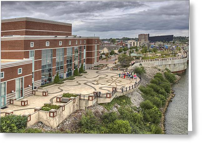 Riverpark Center And Smothers Park Owensboro Ky Greeting Card