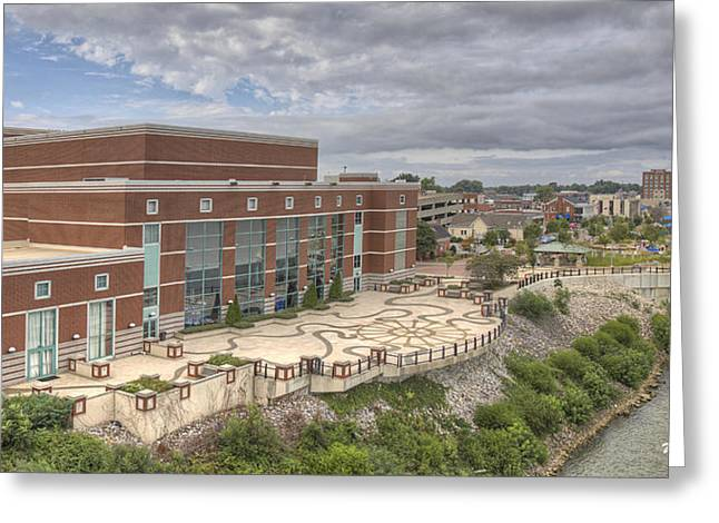 Riverpark Center And Smothers Park Greeting Card