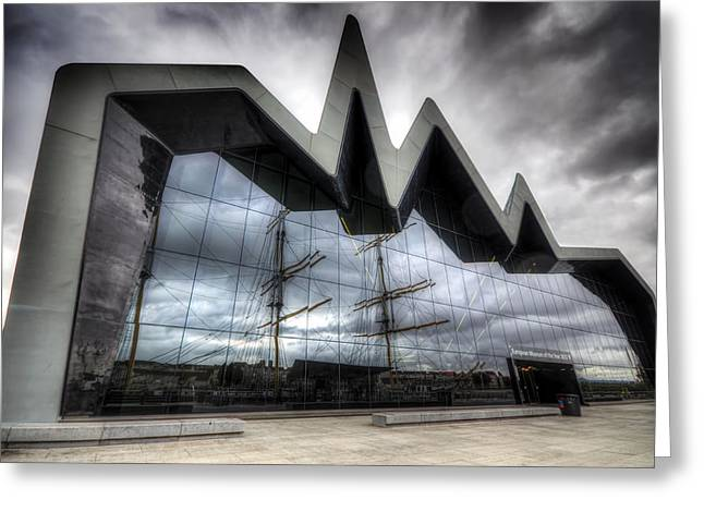 Riverside Museum Greeting Card
