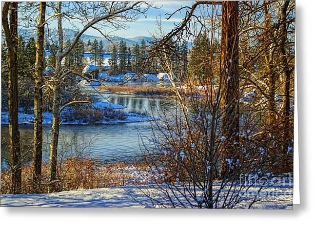 Riverview II Greeting Card